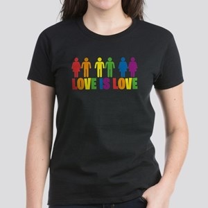 Love is Love Women's Dark T-Shirt
